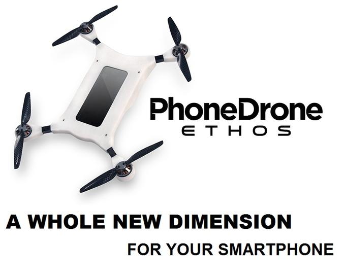 Dejte svému smartphonu křídla - PhoneDrone Ethos