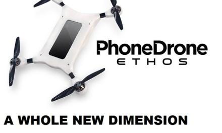 Dejte svému smartphonu křídla – PhoneDrone Ethos