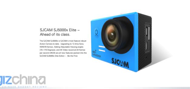 SJCAM SJ5000X ve slevě z EU skladu za pouhých 108 dolarů