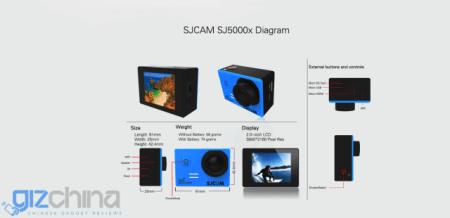 akční kamera SJCAM SJ5000x Elite