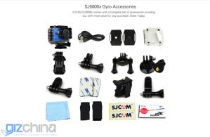 akční kamera SJCAM SJ5000X
