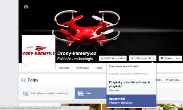 Drony-kamery.cz a naši fanoušci na facebooku