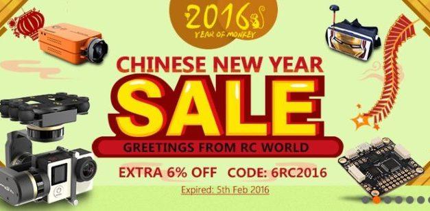 Čínský nový rok a slevy na Banggood