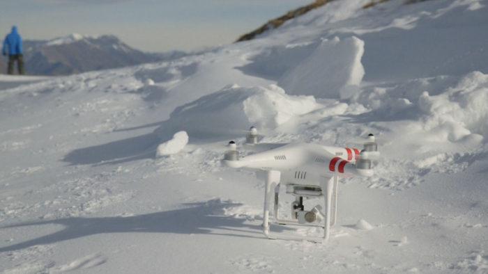 Jak létat s dronem v zimě?