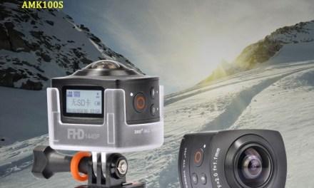 AMKOV AMK100S – levná, 360° kamera z Číny