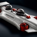Tělo Formule 1 a pohon z dronů aneb civilní ponorka kvadrokoptéra Dragon