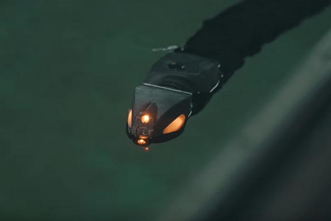 Podvodní dron Eelume s pohyby a tělem hada