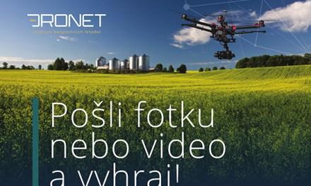 DRONET vyhlašuje soutěž FotkaFilm!
