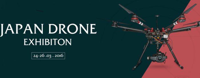 Výstava dronů v Japonsku