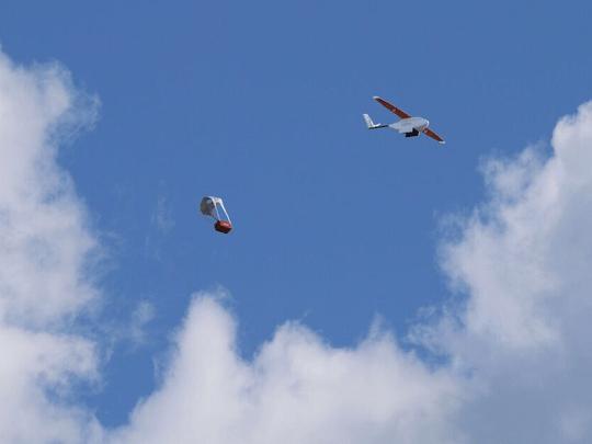 Drony zachraňující lidské životy ve Rwandě