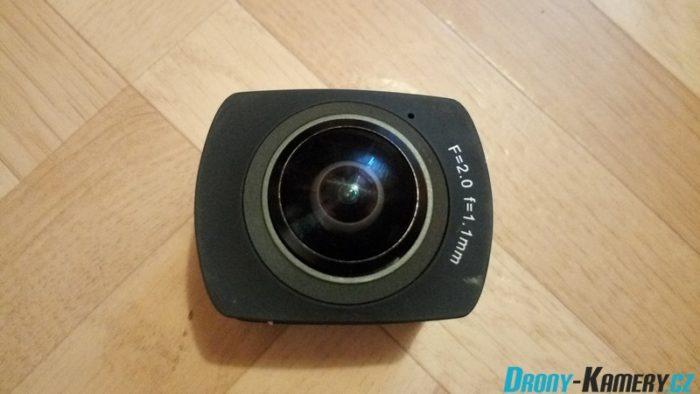 Recenze Amkov AMK100S – první 360° kamera z Číny