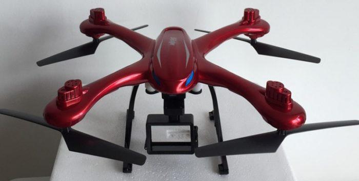 MJX X102H – dron, který unese i kameru