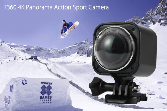 T360 4K – 360° 4K kamera za lákavou cenu