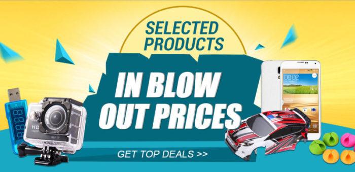 Letní výprodej elektroniky na Gearbest.com