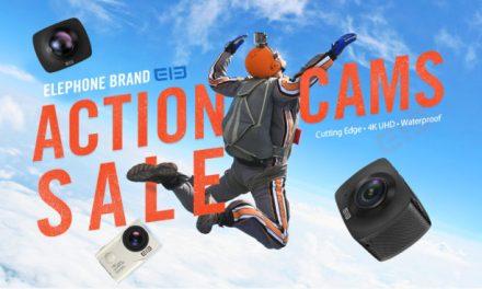 Výprodej akčních kamer od Elephone