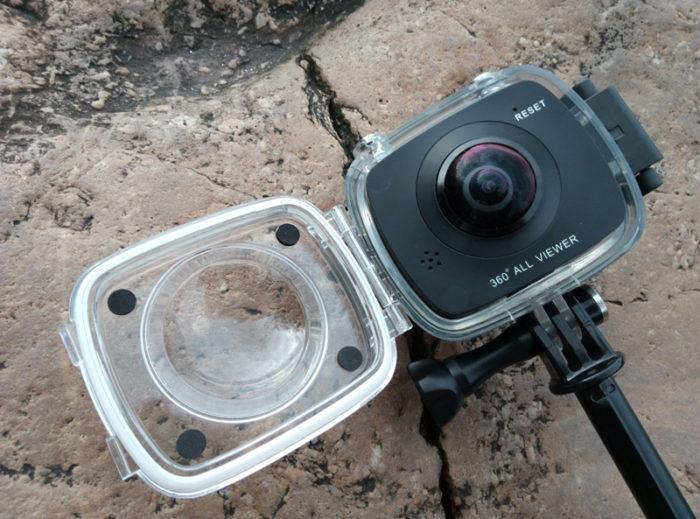 Pouzdro pro kameru EleCam 360 v předprodeji