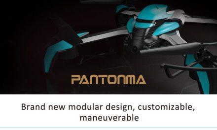Modulární kvadrokoptéra Kaideng Pantonma K80 v prodeji
