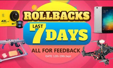 Rollbacks deals! – Banggood plný slev