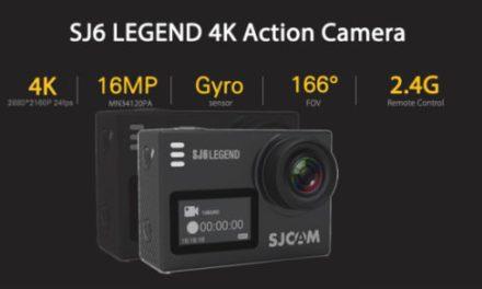 SJCAM SJ6 Legend – nástupce SJCAM SJ5000+ v předprodeji