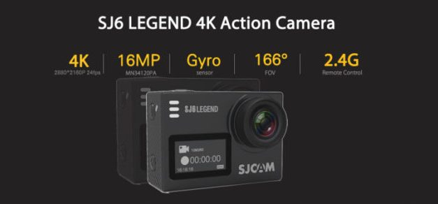 Kamera SJCAM SJ6 Legend v akci za 116$