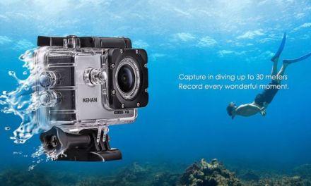 Akční kamera Kehan C60 HD v prodeji za 99,99 dolarů