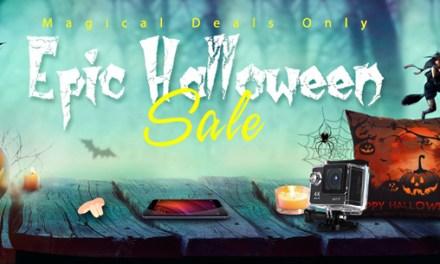 Halloweenský výprodej na Gearbest.com