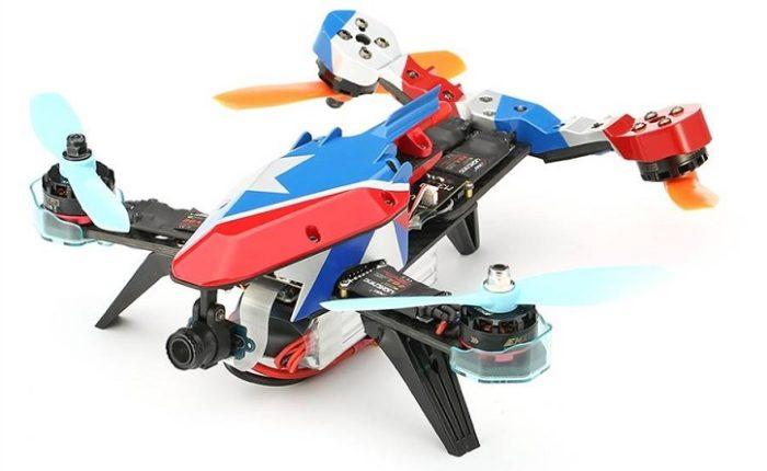 Novinky - Eachine V-tail 210 - dostupný a kvalitní téměř závoďák s netradičním designem