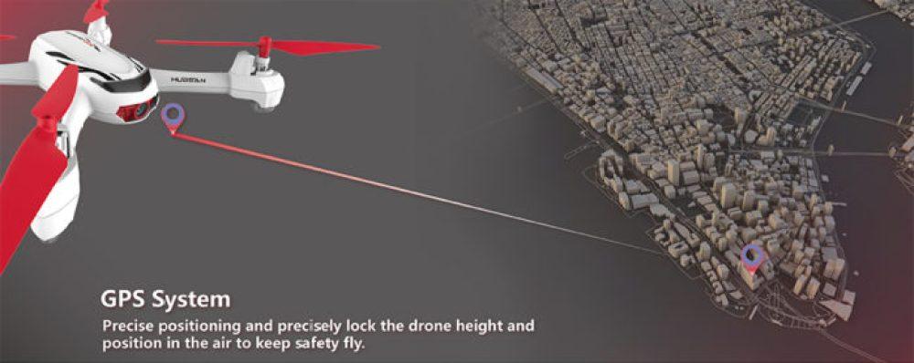 Hubsan X H502E GPS