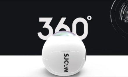 360° kamera SJCAM SJ360 za pouhých 111,99 dolarů