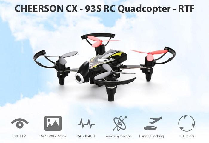 Cheerson CX-93S vlastnosti