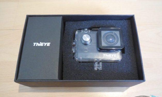 Unboxing ThiEye T5e – první pohled na levnou 4K kameru