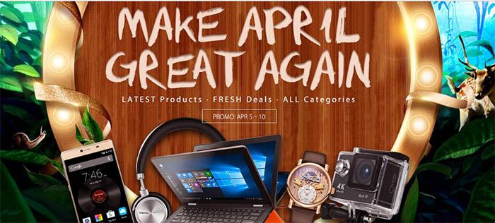 Aprílová nabídka na Gearbestu přináší slevy na ThiEye T5e, Syma X20 a další