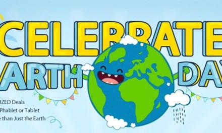 Oslavte Den Země s Gearbestem a porcí slev