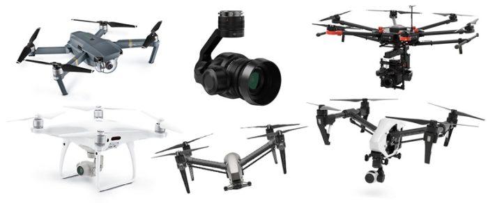 Nejlepší dron s kamerou za 1Q 2017