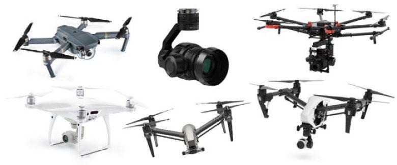 Nejlepší dron s kamerou pro natáčení za 1Q 2017