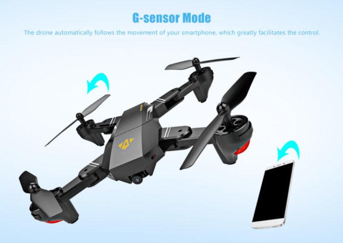 Skládací dron Visuo XS809W