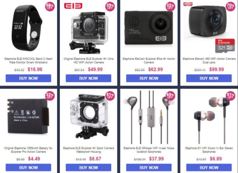 levné akční kamery