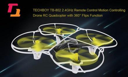 Techboy TB-802 – dron, který lze ovládat pohybem ruky