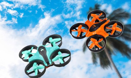 Mini dron FuriBee F36 v akci za 9,99$