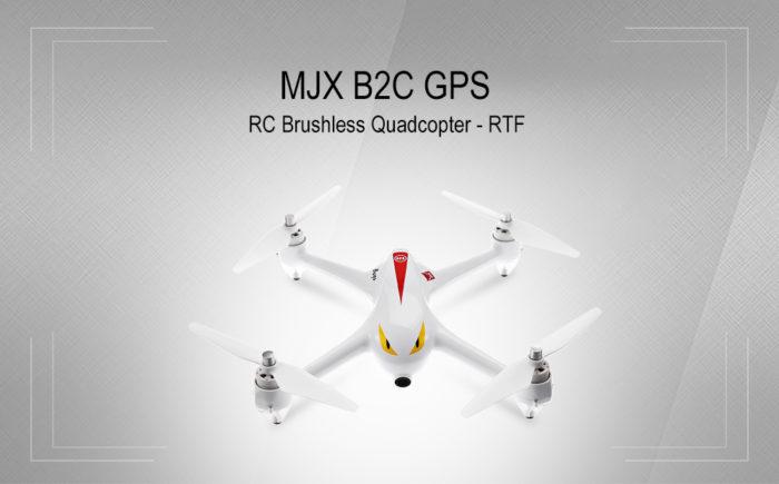 MJX B2C – dron s GPS a FullHD kamerou za skvělou cenu