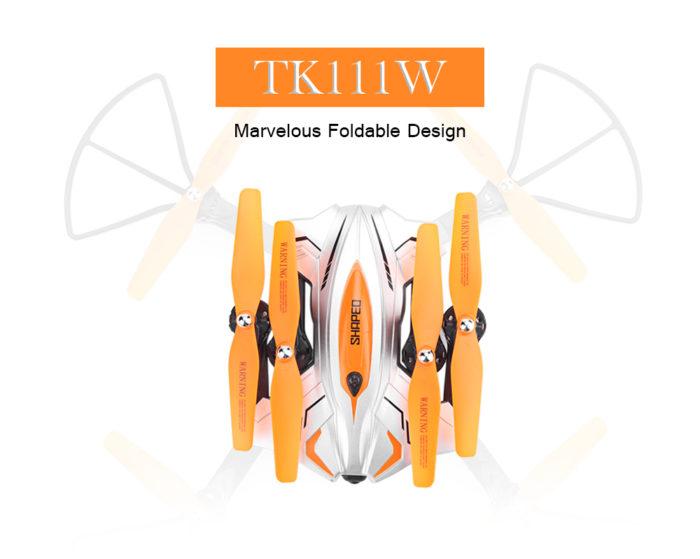 TKKJ TK11W – další skládací dron s barometrem