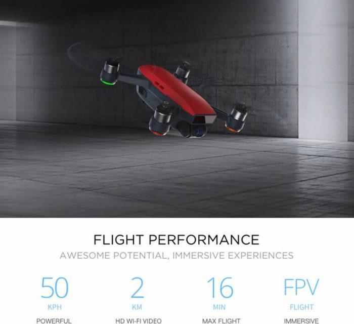 DJI Spark Fly More Combo teď koupíte jen za 709$ a bez obav z DPH
