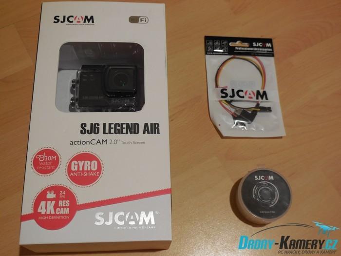 Unboxing SJCAM SJ6 Legend Air