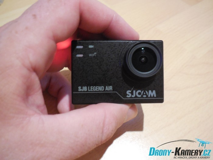 Unboxing SJCAM SJ6 Legend Air - první pohled na odlehčenou SJ6