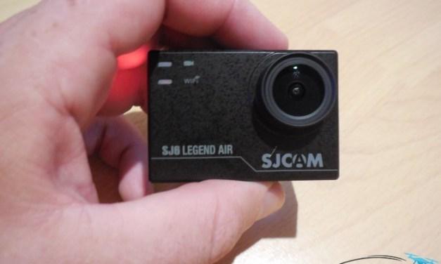 Unboxing SJCAM SJ6 Legend Air – první pohled na odlehčenou SJ6