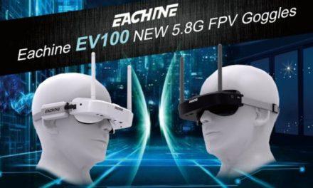 Eachine EV100 – malé FPV brýle za skvělou cenu