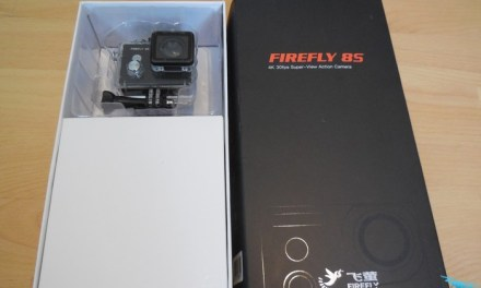 Unboxing Firefly 8S 4K – první pohled na další 4K kameru