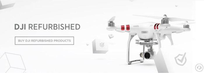 DJI Refurbish - repasované drony s roční zárukou
