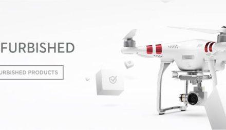 DJI Refurbish – repasované drony s roční zárukou