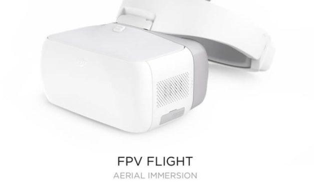 FPV brýle DJI Goggles jsou opět ve flash sale za bezkonkurenční cenu